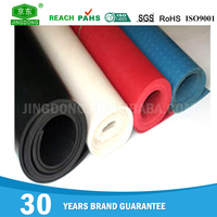Insulation cheap fine wide ribbed rubber sheet