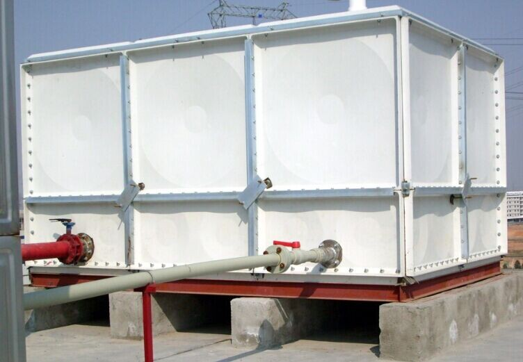 Iso Standard Square Sectional Fiberglass Grp Water Tank