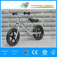 Light weight aluminum kids training balance bike