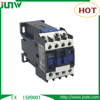 Manufacture suppliers for types of 3p 4p magnetic contactors with 24v 220v dc ac coil