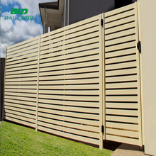 outdoor house laminate lightweight garden fencing