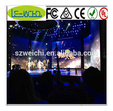 fast installation rental led screen outdoor sports live indoor led display applied to plazas curtain wall led display