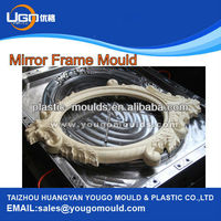 Professiona plastic decorative picture frames moulds plastic injection moulding machine price