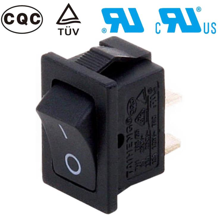 250V/15A 2p TH11-A-S88B-A7 Rocker Switches for electric appliance