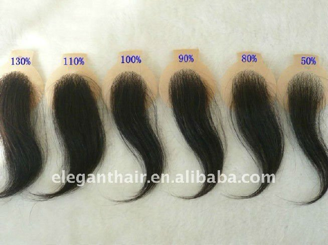 Bleached knots 100% human hair super swiss lace toupee