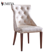 Hotel furniture used upholstered dining room chair wood look banquet chairs for sale