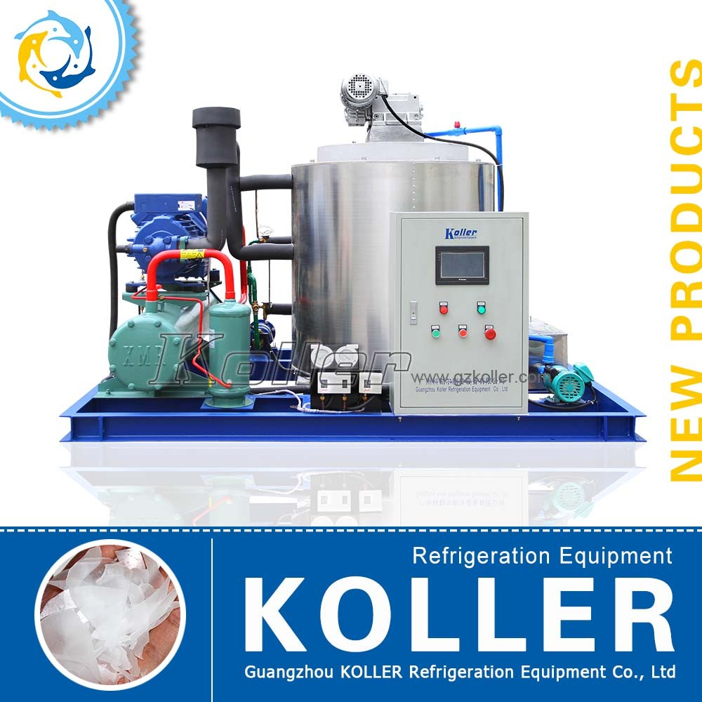 Koller Hot Sale Ice Flake Machine 5 TPD KP50 for Fishery and Meat