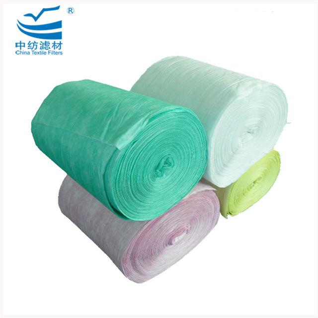 Synthetic Fiber Material Pocket Air Filter Roll Material