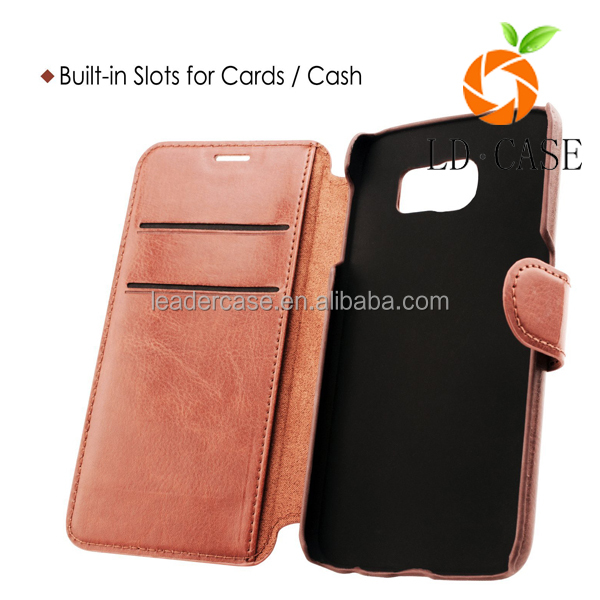 New arrival mobile phone case for samsung note 7 premium leather wallet