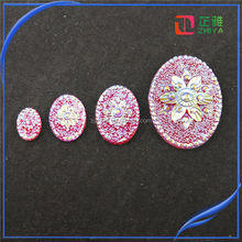 18*25 oval wholesale wall crosses resin christmas figurines for jewelry