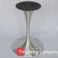 OEM Customized metal pedestal cast iron copper table base Supplier