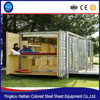 Folding 20ft prebuilt container foldable living manufacturers expandable prefabricated steel china flat pack homes