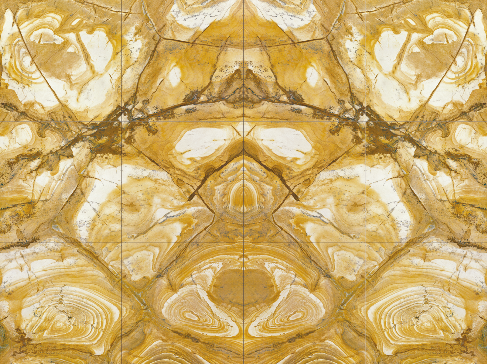Flamenco gold polished marble for wall carpet design tile
