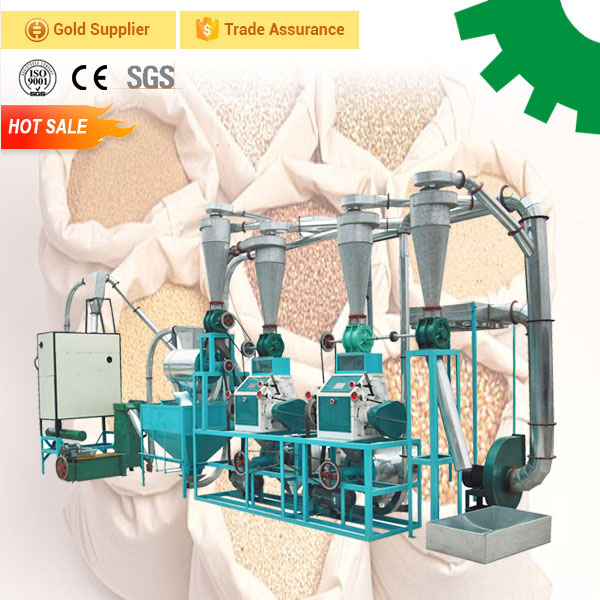 Corn mill processing make 10t corn flour plant