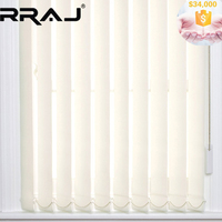 RRAJ Motorized Polyester Fabric Vertical Blind
