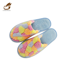 chinese embroidered velvet slippers large size slippers