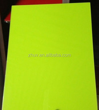 green uv mdf board with different colors available 18mm