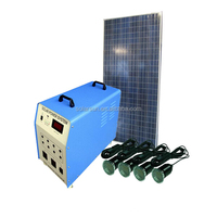 Power Off Grid Home Solar Kit