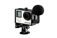 GoMic Profesional Stereo Ball Microphone for Go Pro HERO3, HERO3 Plus and HERO4