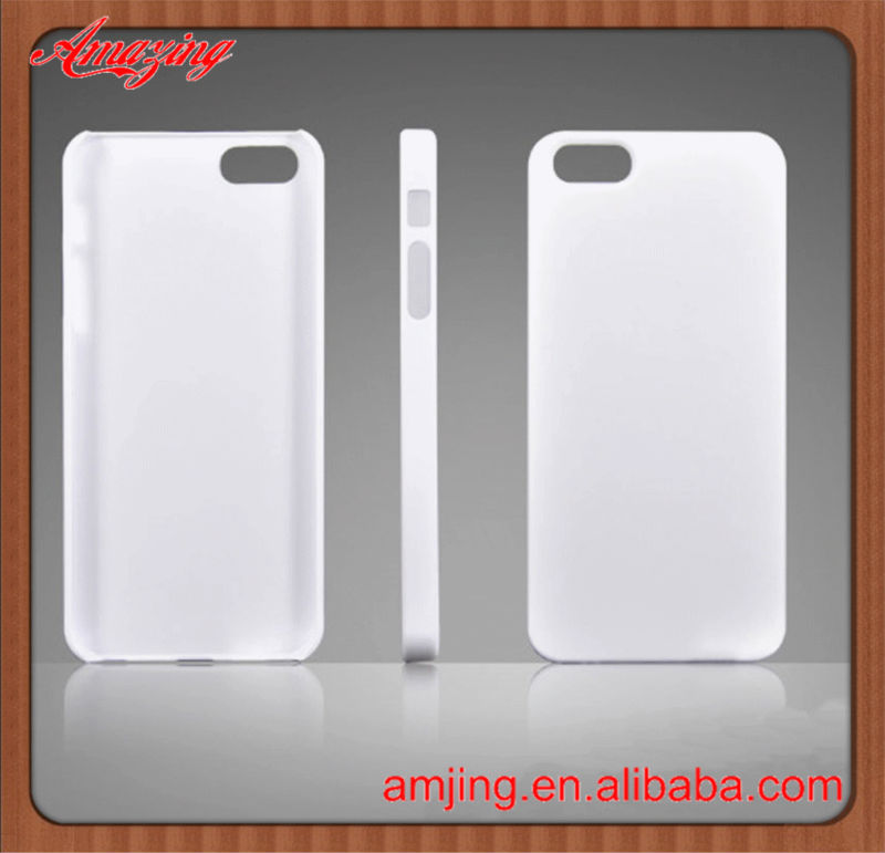 Top selling PC materials blank case for iphone for iPhone 5 blank plain case