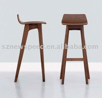 Oak Wood Bar Stool DS-L001