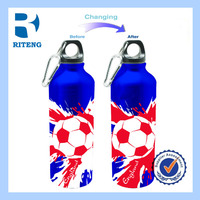 Bulk Buy From China 500ml Promotional Aluminum Drinking Cold Color Changing Water Bottle