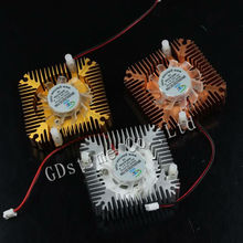 "Computer 12V 5V 2Pin 50mm 55MM 2.16"" Graphics VGA Card Cooling Heatsink Fan"