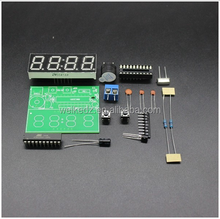 4 Bits Electronic Clock Electronic Production Suite DIY Kits