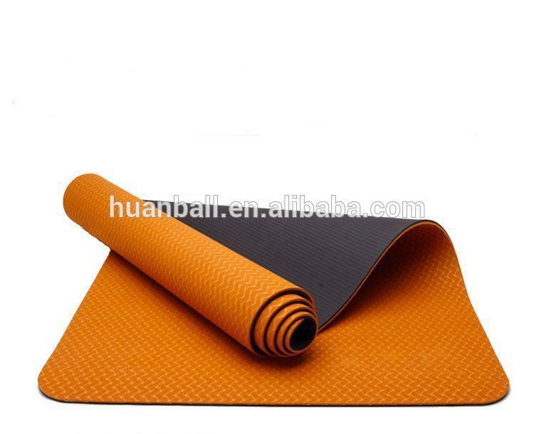 China colorful TPE custom printed yoga mats with design