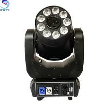 90w Watt Led Moving Head Spot Fixed Gobo Wheel Rgbw 4in1 Quad Colorful Lighting Effect