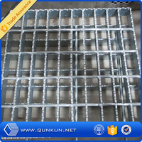 china supplier galvanized steel grating weight/serrated galvanized steel grating weight/stainless steel grating
