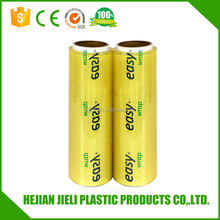 food grade wrapping film cling film pvc wrapper
