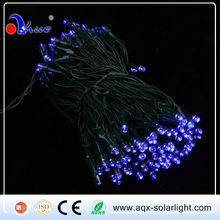 200LED Solar Christmas String Light ,Solar LED Decorate Light with Purple/Red/Green Color