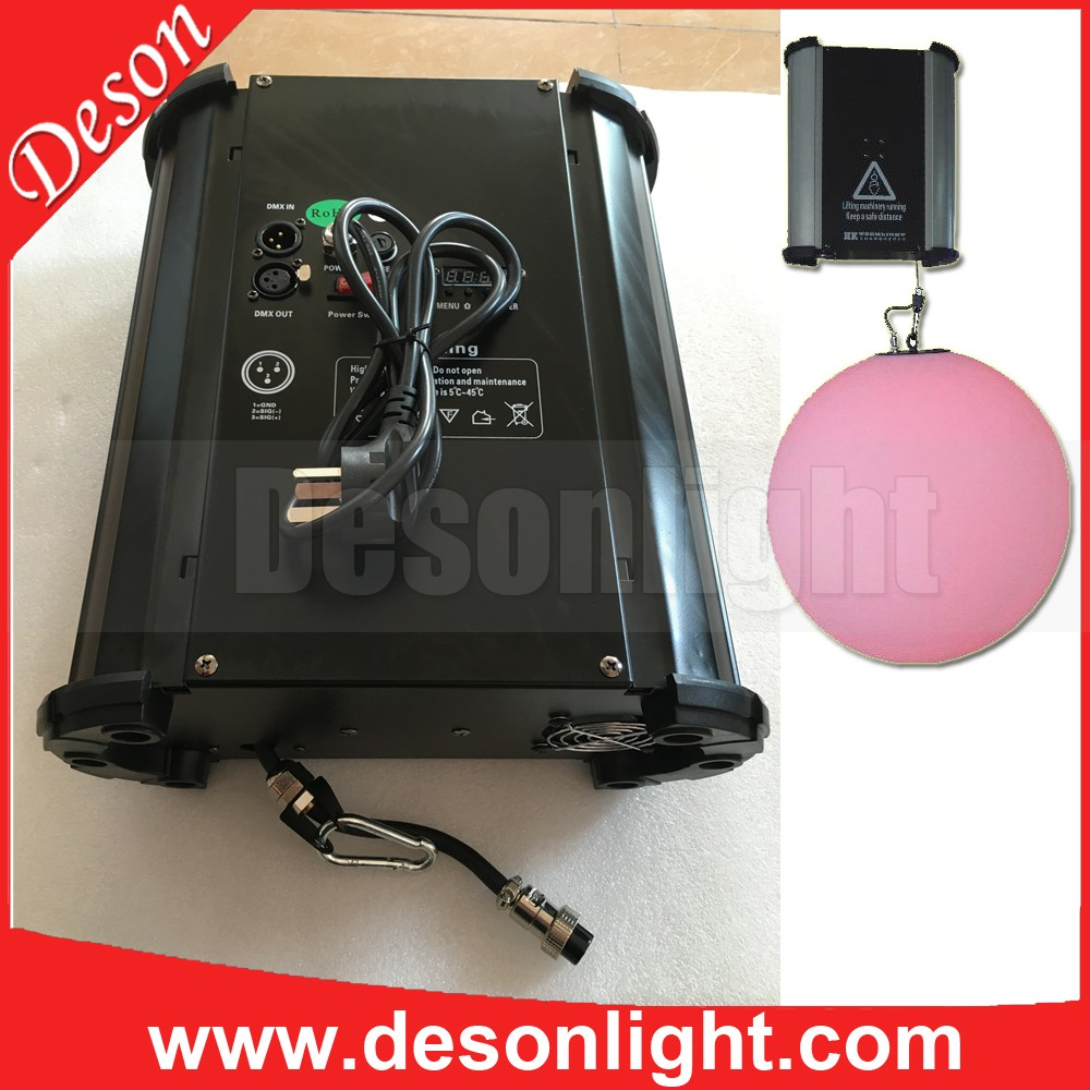 New kinetic lighting dmx 512 lift LED moving led balls