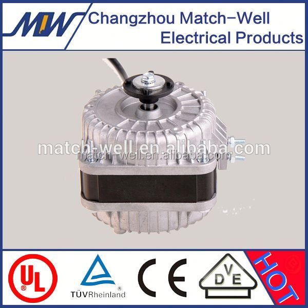 5W~50W CE Approved AC refrigeration Aluminum shaded pole fan motor