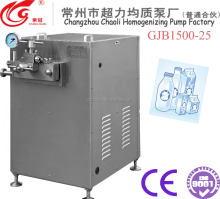 Small scale dairy juice product homogenizer machine