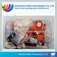 packaging material supplier heat seal printable custom food vacuum plastic bag