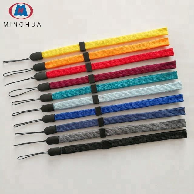 Colourful 10mm width promotional mobile phone custom phone finger strap - ANKUX Tech Co., Ltd
