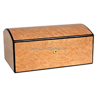 Gift Craft Natural Lacquered Wood Packaging