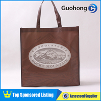 Supermarket shopper reusable burlap non woven shopping bags,Reusable Eco woven PP laminated shopping bag