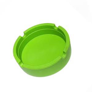 China factory colourful cigar silicone ashtray with custom logo