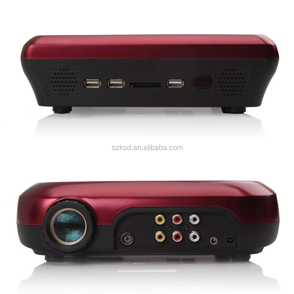 Ksd 288 Hd Dvd Projector Best New Hd Home Theater: Led Video Projector With Dvd Player And Tv Tuner For Home