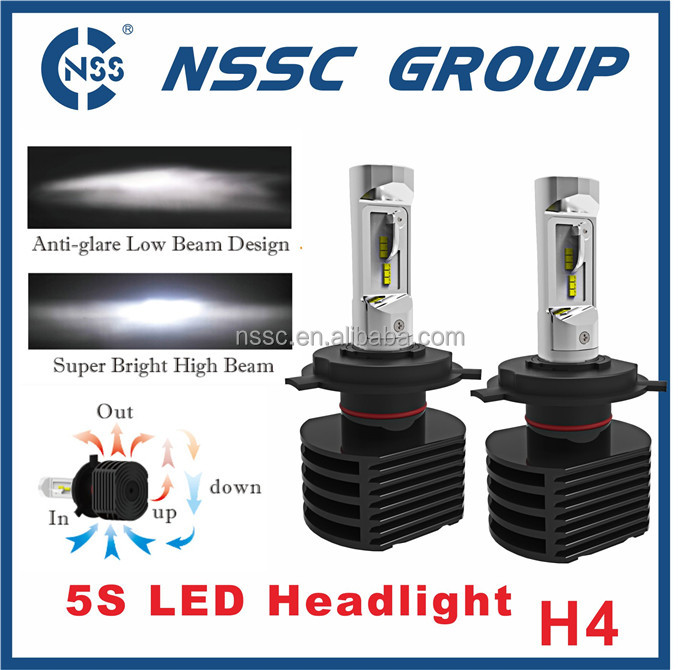 5S car led headlight with high lumen