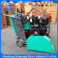 Portable Honda GX270 engine small asphalt road cutter