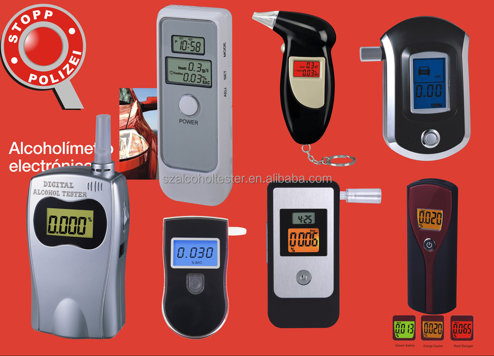 alcohol tester/alkohol tester/breathalyzer/analyzer detector/Alcohol Breath Tester