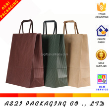 raw materials of paper cosmetic bags with handles