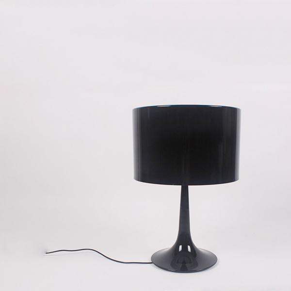 LP251 Spun american modern bedside brief table lamp home decorative table lamp Spun Table Lamp