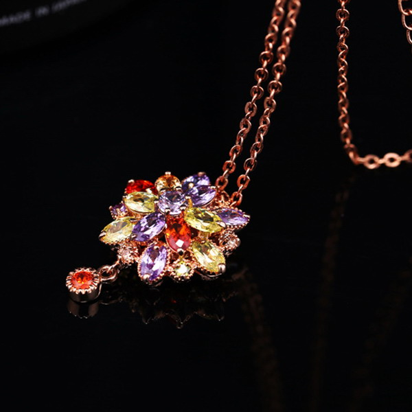 Contemporary ethnic necklaces 22k gold plated