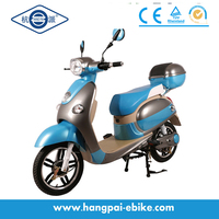 Hot selling vespa electric scooter with pedals (HP-XGW)