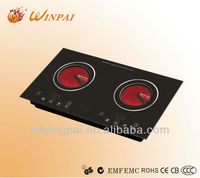 Double bureners gas stove ceramic infrared induction cooker